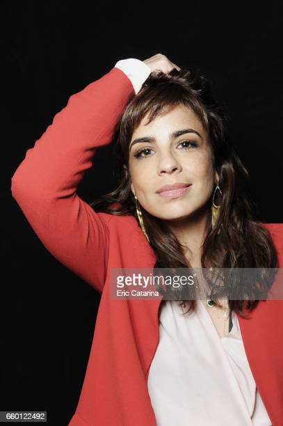 Maria Ribeiro is photographed for Self Assignment on February 17 2011 in Berlin Germany