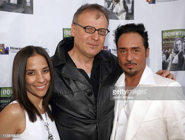 Maria Rita Caso Rafal Zielinski and Joey Dedio during Downtown A Street Tale Hollywood Premiere at Laemmle Sunset 5 in Hollywood California United...