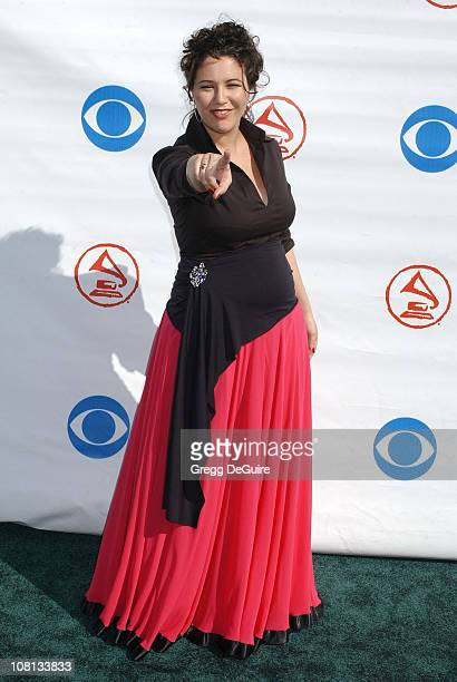 Maria Rita during The 5th Annual Latin GRAMMY Awards Arrivals at Shrine Auditorium in Los Angeles California United States