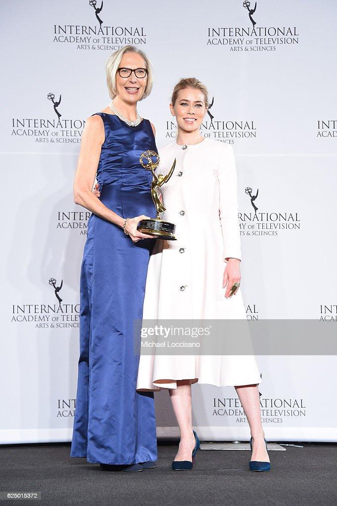 44th International Emmy Awards - Press Room