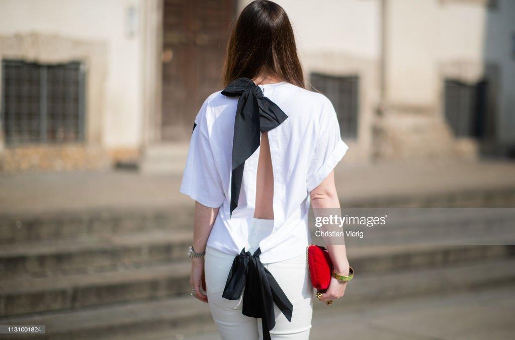 Street Style - Day 1: Milan Fashion Week Autumn/Winter 2019/20 : Foto di attualità