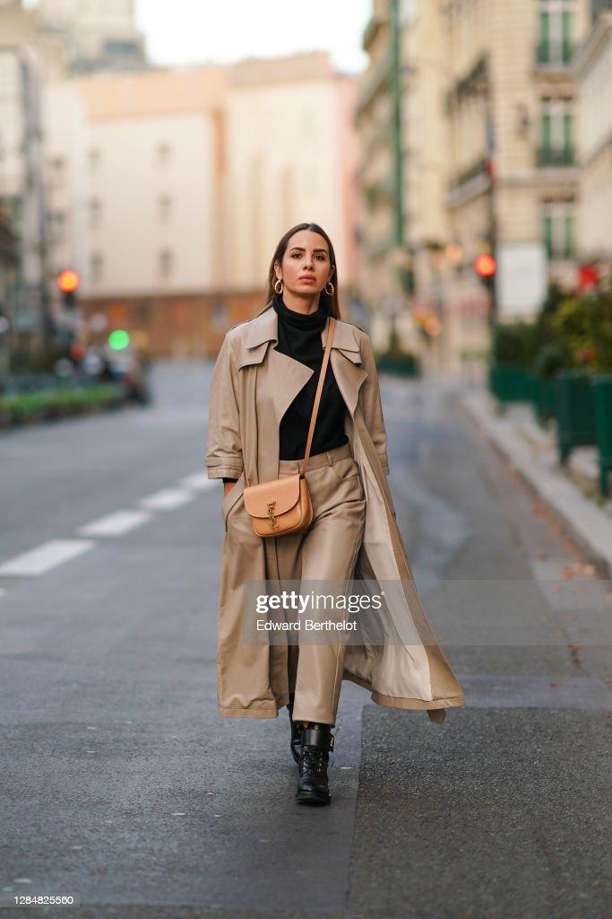 Fashion Photo Session In Paris - November 2020 : News Photo