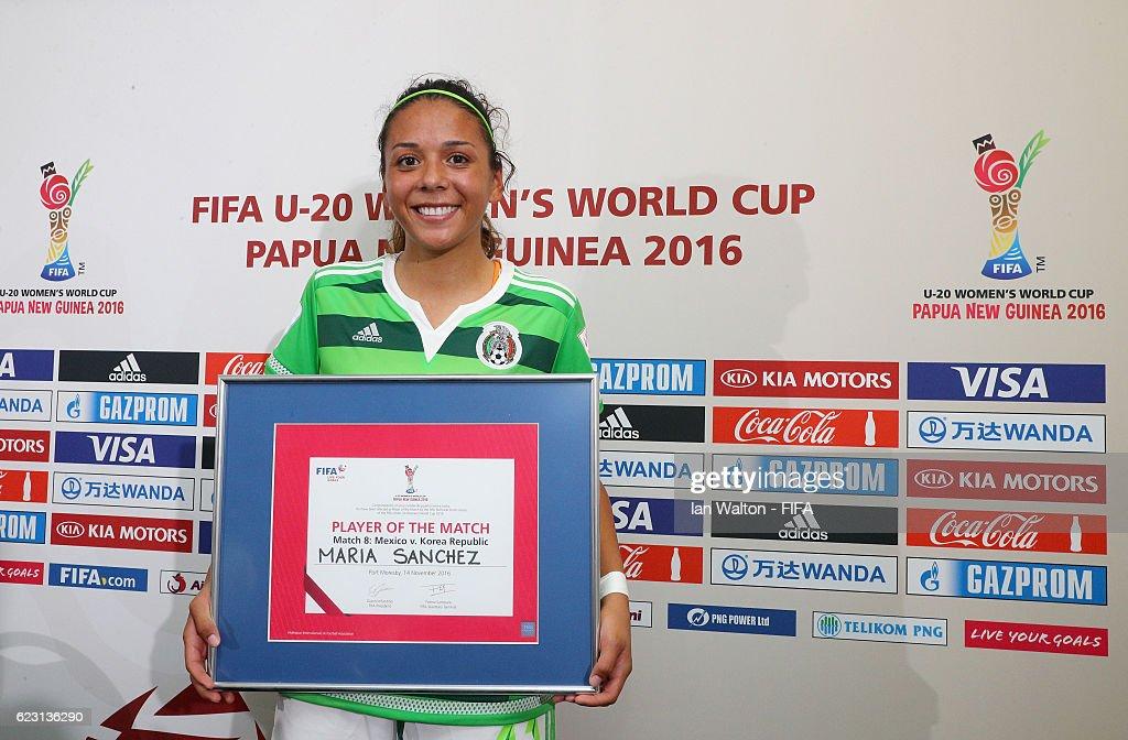 Mexico v Korea Republic: Group D - FIFA U-20 Women's World Cup Papua New Guinea 2016 : News Photo