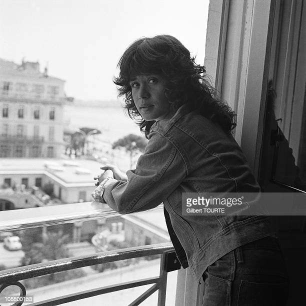 Maria Schneider at Cannes Film Festival in 1975