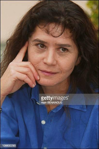 Maria Schneider Member Of The Jury Of The 3rd Marrakesh Film Festival in 2003