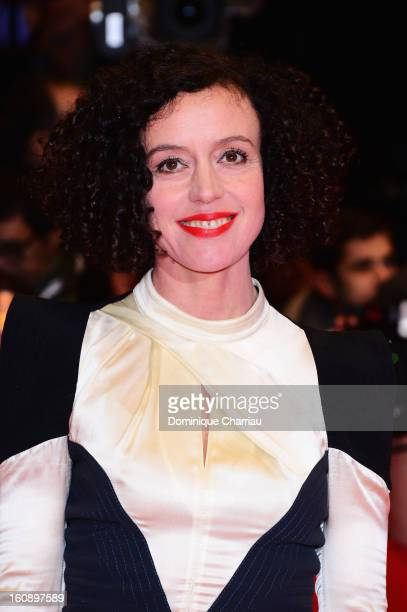 Maria Schrader attends 'The Grandmaster' Premiere during the 63rd Berlinale International Film Festival at Berlinale Palast on February 7 2013 in...