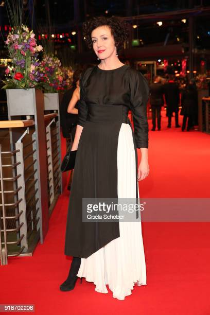 Maria Schrader attends the Opening Ceremony 'Isle of Dogs' premiere during the 68th Berlinale International Film Festival Berlin at Berlinale Palace...