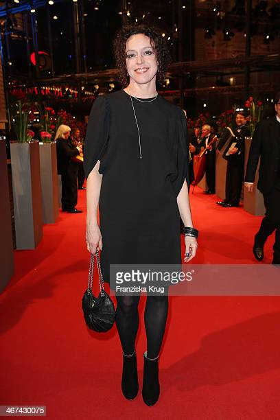 Maria Schrader attends the Opening Party 64th Berlinale International Film Festival at Berlinale Palast on February 06 2014 in Berlin Germany