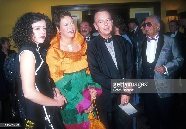 Maria Schrader Doris Dörrie Lebensgefährte Helge Weindler Deutscher Filmball 1995 München Bayern Deutschland Europa Bayerischer Hof Lebensgefährtin...