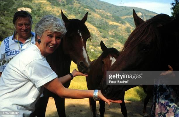 Maria Sebaldt mit Ehemann Robert FreitagPferd Tier Urlaub USARundreise