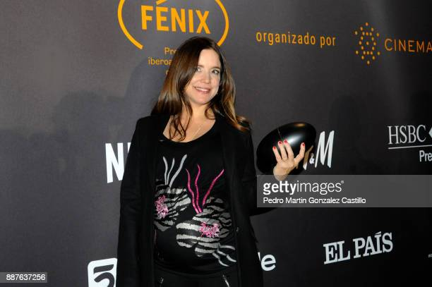 Maria Secco poses during Fenix Iberoamerican Film Awards 2017 at Teatro de La Ciudad on December 06 2017 in Mexico City Mexico