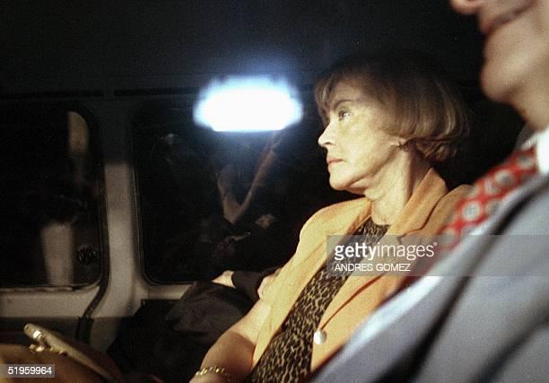 Maria Servini de Cubria jueza argentina que investiga el asesinato ocurrido el 30 de septiembre de 1974 en Buenos Aires del Gen Carlos Prats ex...