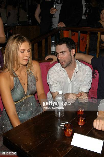 Maria Sharapova and Adam Levine attend MOTOROLA hosts tennis superstar Maria Sharapova's 18th birthday bash with special performance by Maroon 5 at...