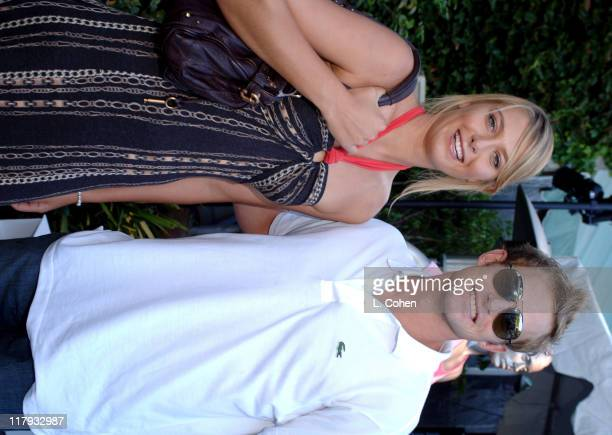 Maria Sharapova and Andy Roddick during Andy Roddick Host 13th Annual ESPY Awards Pre-Party - Inside at Playboy Mansion in Beverly Hills, California,...