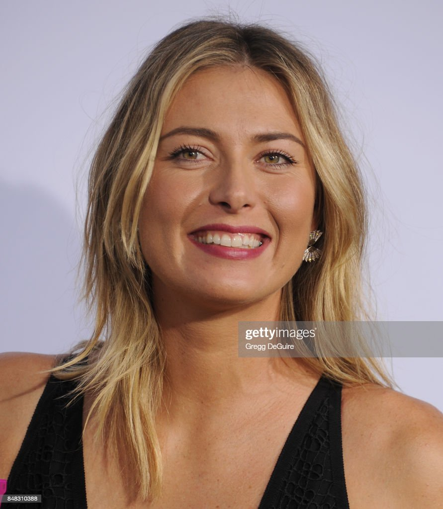 Maria Sharapova arrives at the premiere of Fox Searchlight Pictures' 'Battle Of The Sexes' at Regency Village Theatre on September 16, 2017 in Westwood, California.