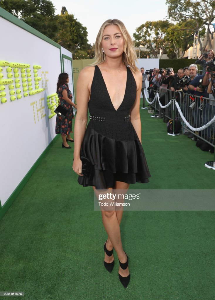 Maria Sharapova at Fox Searchlight's 'Battle of the Sexes' Los Angeles Premiere on September 16, 2017 in Westwood, California.
