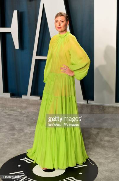 Maria Sharapova attending the Vanity Fair Oscar Party held at the Wallis Annenberg Center for the Performing Arts in Beverly Hills, Los Angeles,...