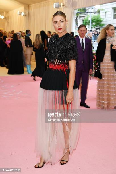 Maria Sharapova attends The 2019 Met Gala Celebrating Camp: Notes on Fashion at Metropolitan Museum of Art on May 06, 2019 in New York City.