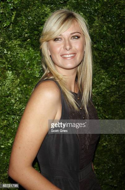 Maria Sharapova attends the 5th Anniversary of the CFDA/Vogue Fashion Fund at Skylight Studios on November 17, 2008 in New York City.