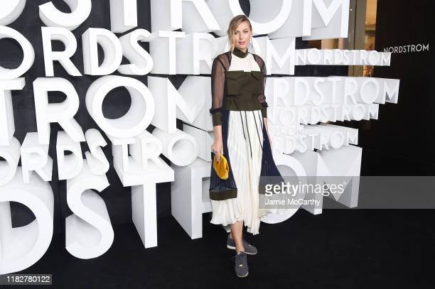 Maria Sharapova attends the Nordstrom NYC Flagship Opening Party on October 22, 2019 in New York City.