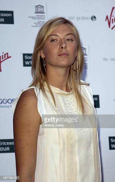 Maria Sharapova Attends ' The Virgin Pre Wimbledon Tennis Summer Party ' At The Kensington Roof Gardens London21/6/2007