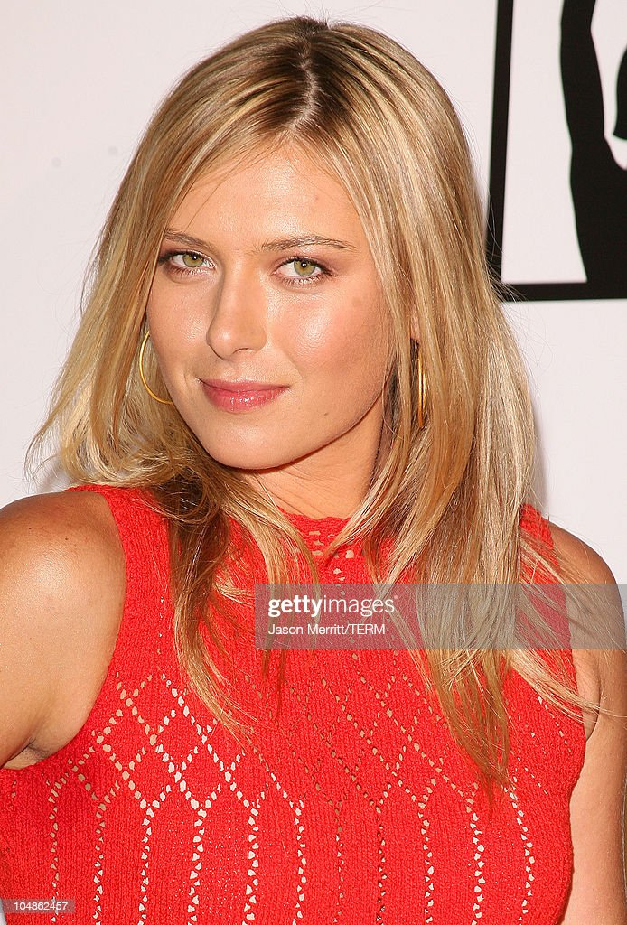 Maria Sharapova during 1st Annual The Billies Awards- Arrivals at Beverly Hilton Hotel in Beverly Hills, California, United States.