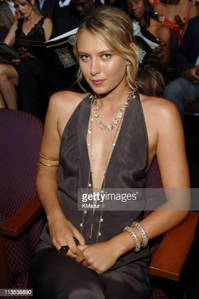 Maria Sharapova during 2005 ESPY Awards Front Row and Backstage at Kodak Theater in Hollywood California United States