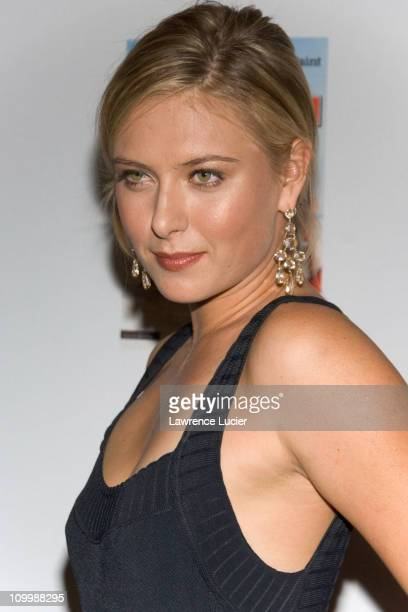 Maria Sharapova during 2006 Sports Illustrated Swimsuit Issue Press Conference at Crobar in New York City New York United States