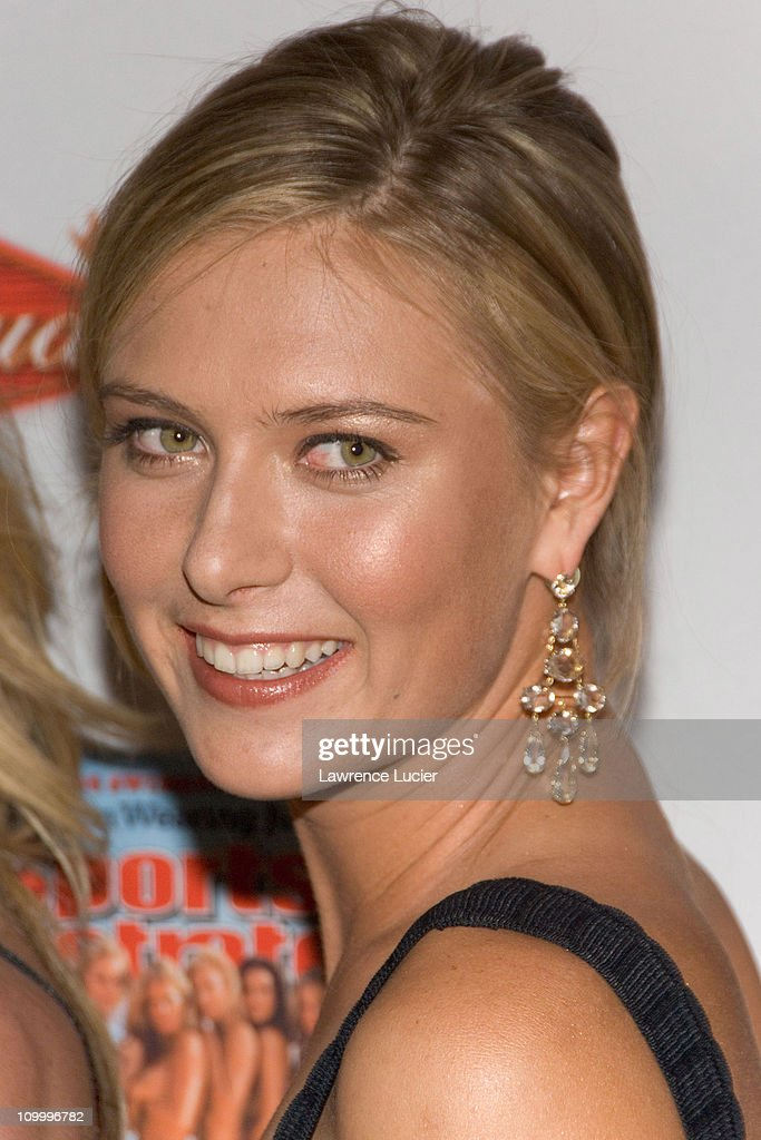 Maria Sharapova during 2006 Sports Illustrated Swimsuit Issue Press Conference at Crobar in New York City, New York, United States.