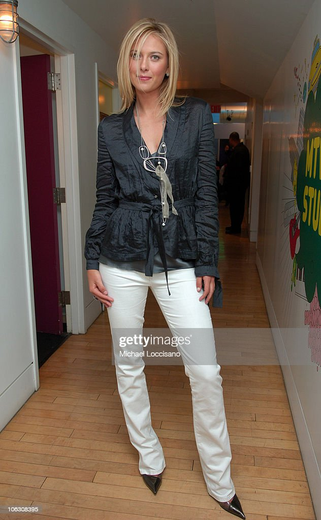 "Maria Sharapova and Paul Walker Visit MTV's ""TRL"" - February 14, 2006"
