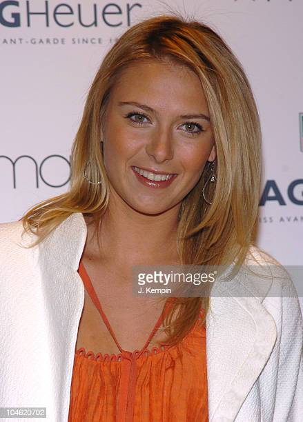 Maria Sharapova during Maria Sharapova In-Store Appearance at Macy's For Tag Heuer - April 10, 2006 at Macy's Herald Square in New York City, New...
