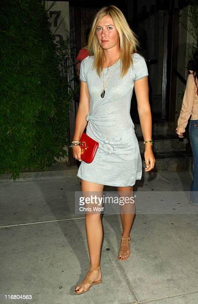 Maria Sharapova during Maria Sharapova Sighting at Koi May 8 2007 at Koi in West Hollywood California United States