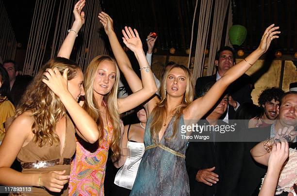 Maria Sharapova during Maria Sharapova's 18th Birthday Party Sponsored by Motorola at Hiro Ballroom in New York City New York United States