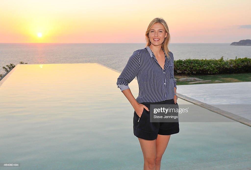 Maria Sharapova Photos Photos - Tennis Star Maria