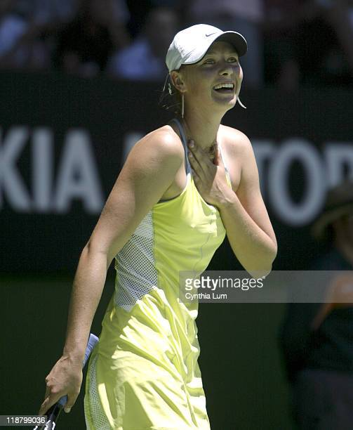 Maria Sharapova heads into the semifinals of the Australian Open posting a 3 set victory over Svetlana Kuznetsova during the quarter finals of the...
