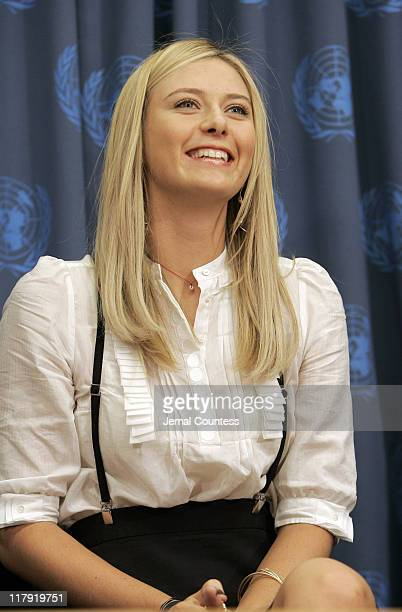 Maria Sharapova is appointed UNDP Goodwill Ambassador in a ceremony which took place at the United Nations on February 14 2007 She also used the...