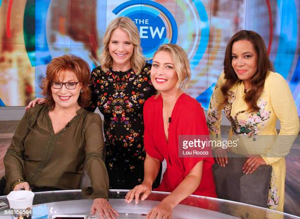 THE VIEW Maria Sharapova is the guest Tuesday September 12 2017 on ABC's 'The View' 'The View' airs MondayFriday on the ABC Television Network HOSTIN