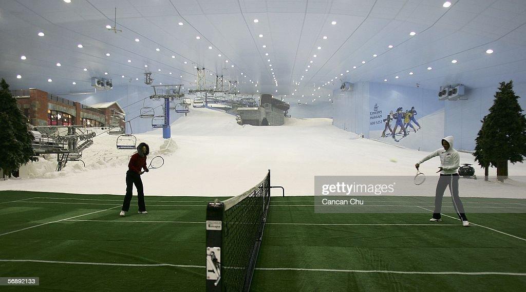 Dubai Women's Open - Day 1 : News Photo