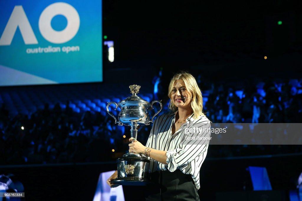 2018 Australian Open Draw : Foto di attualità