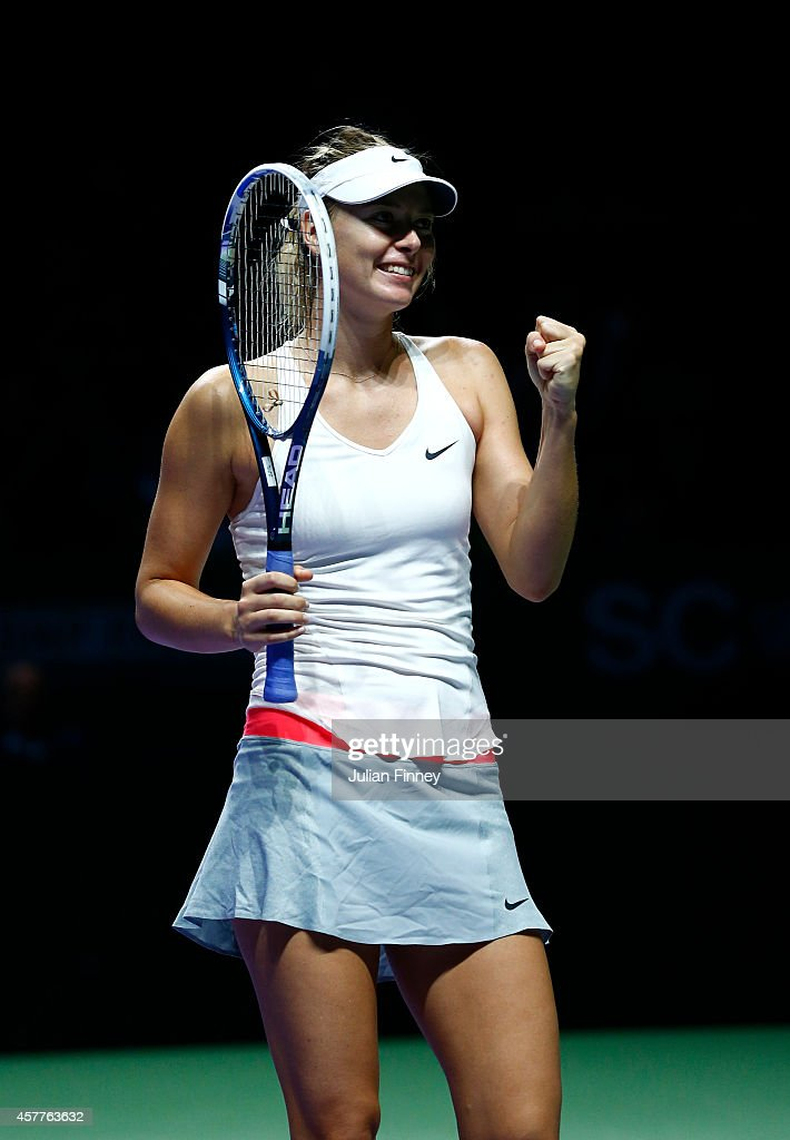 BNP Paribas WTA Finals: Singapore 2014 - Day Five : News Photo