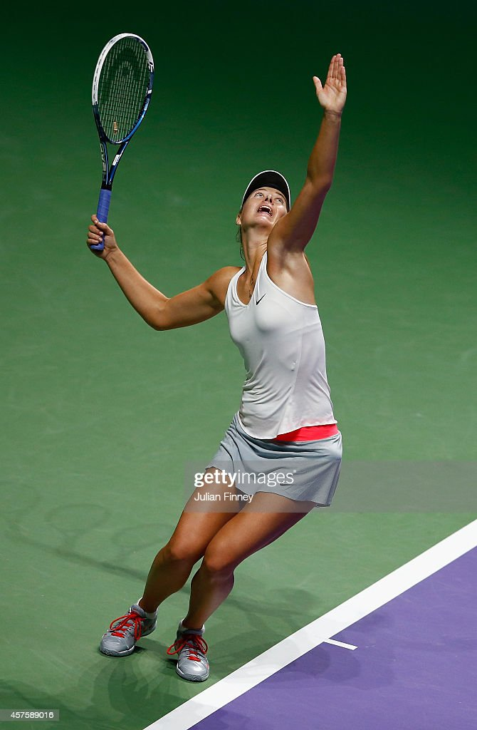 BNP Paribas WTA Finals: Singapore 2014 - Day Two : News Photo