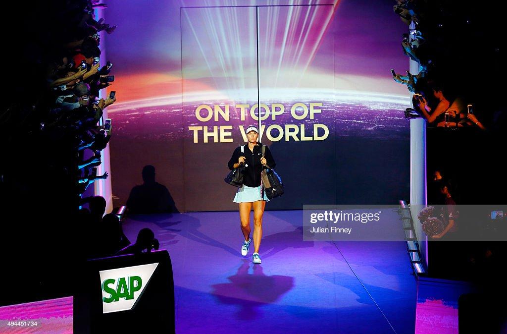 BNP Paribas WTA Finals: Singapore 2015 - Day Three : ニュース写真