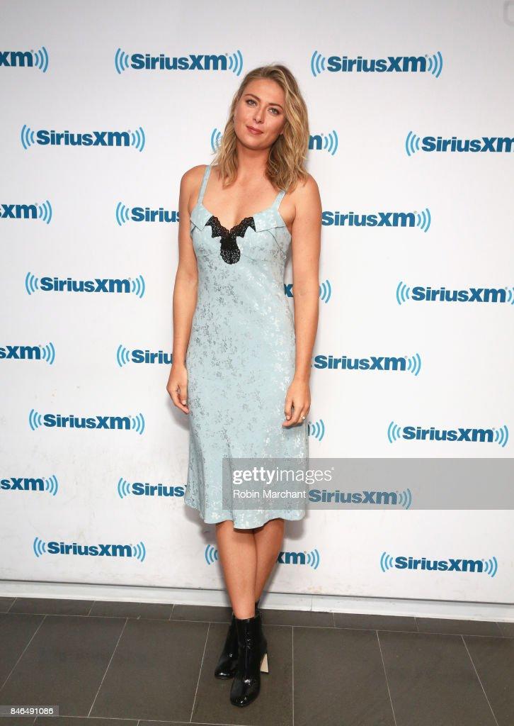 Celebrities Visit SiriusXM - September 13, 2017 : News Photo