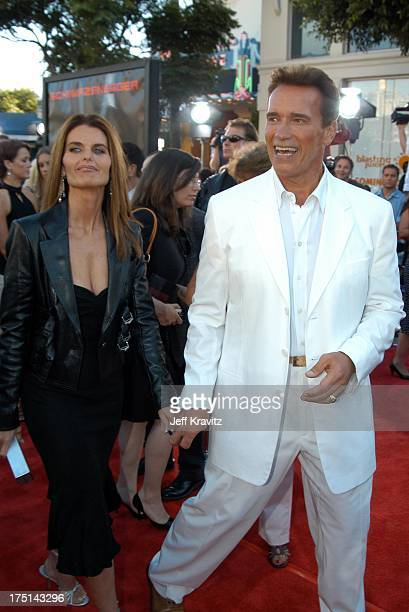 """Maria Shriver and Arnold Schwarzenegger during """"Terminator 3 - Rise of the Machines"""" World Premiere at Mann Bruin in Los Angeles, California, United..."""