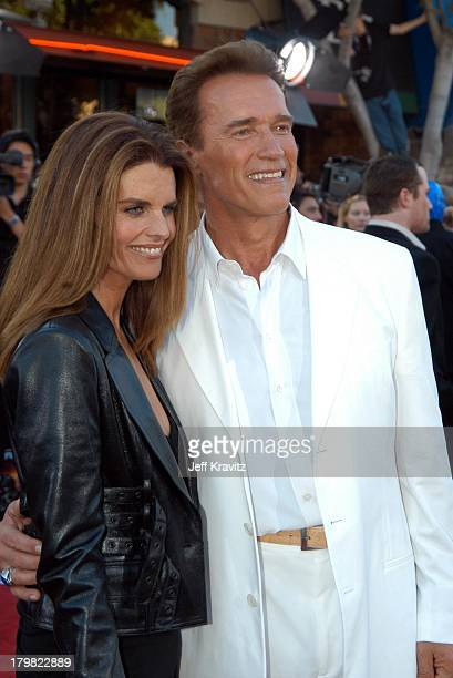 Maria Shriver and Arnold Schwarzenegger during Terminator 3 - Rise of the Machines World Premiere at Mann Bruin in Los Angeles, California, United...