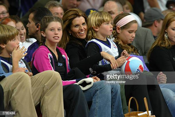Young Maria Shriver Stock Photos And Pictures Getty Images