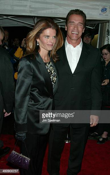Maria Shriver Arnold Schwarzenegger during Pumping Iron The 25th Anniversary New York Premiere at Loews Tower East in New York City, New York, United...