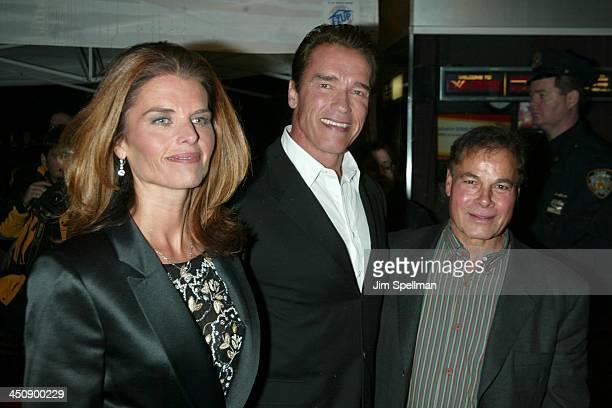 Maria Shriver, Arnold Schwarzenegger & Franco Columbu