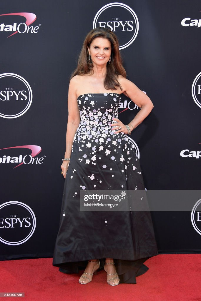 Maria Shriver attends The 2017 ESPYS at Microsoft Theater on July 12, 2017 in Los Angeles, California.