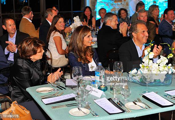 Maria Shriver attends the reception celebrating the Best Buddies Challenge Hearst Castle at the Tehama Golf Club on September 7 2012 in Carmel...